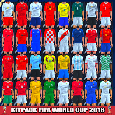 22bd4d642cd Kitpack FIFA World Cup 2018 PES PSP For Emulator PPSSPP