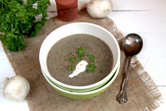 jak przygotować zupę krem z pieczarek