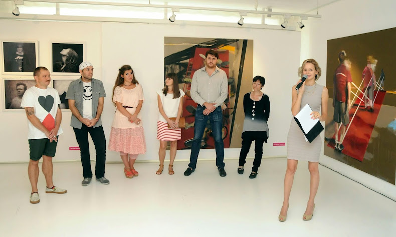 MOST 2012 Exhibition Opening, Modern Art Gallery, Sofia, Bulgaria
