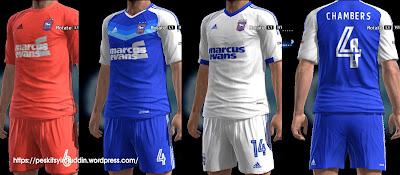 Ipswich Town kits 2016-2017
