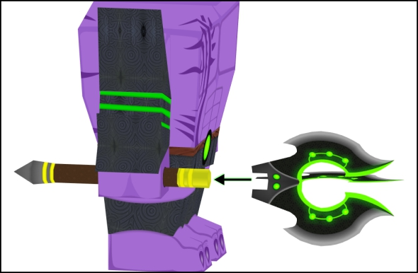 attaching the weapon of faceless void part 2