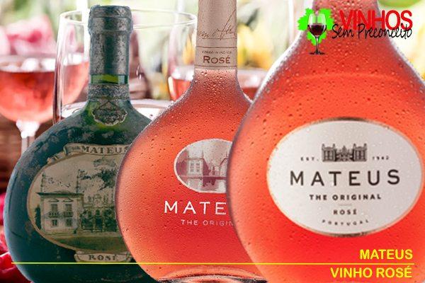 Vinho MATEUS ROSÉ THE ORIGINAL: Nem Tinto Nem Branco