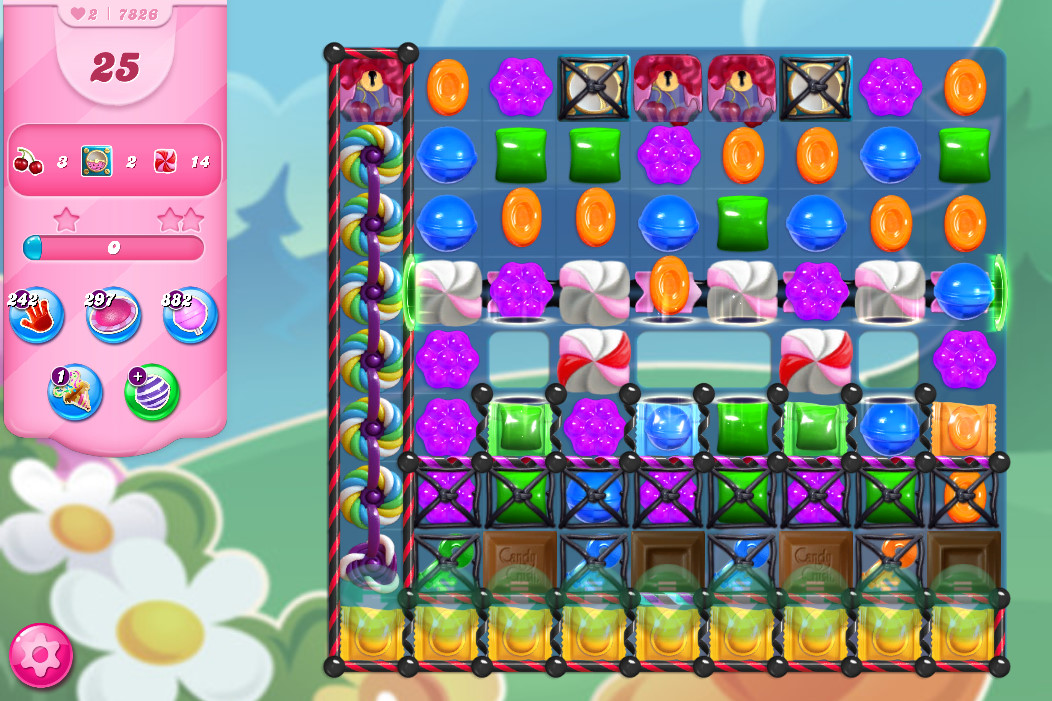 Candy Crush Saga level 7826