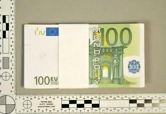 Ladrones compran joyerías con billetes de Monopoly