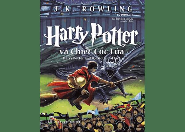 Sách Harry Potter tập 4 - Harry Potter và chiếc cốc lửa