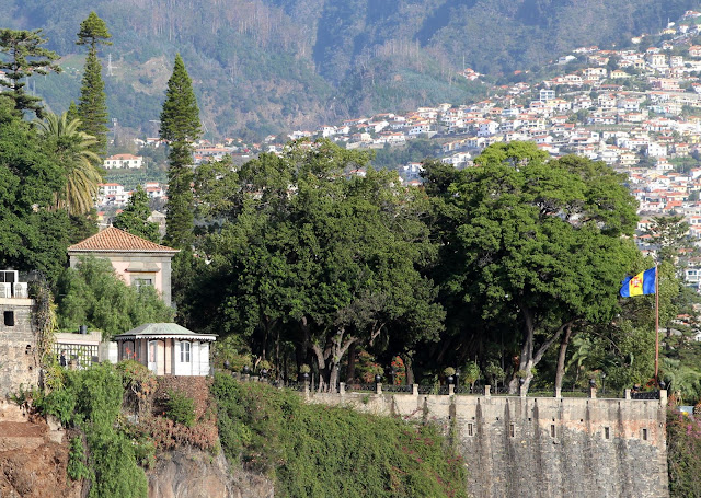 Quinta Vigia from Funchal port