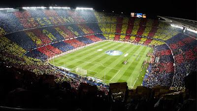 Los 10 mejores estadios de Fútbol - Camp Nou