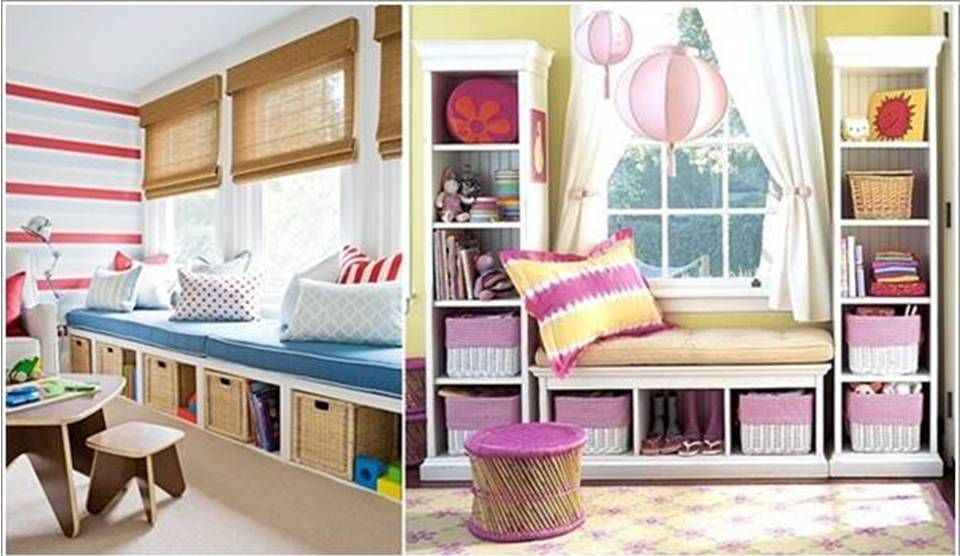 25 creative kid's bedroom storage ideas  home decor