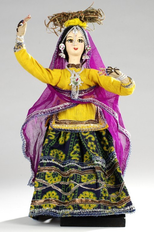 Cloth doll from India