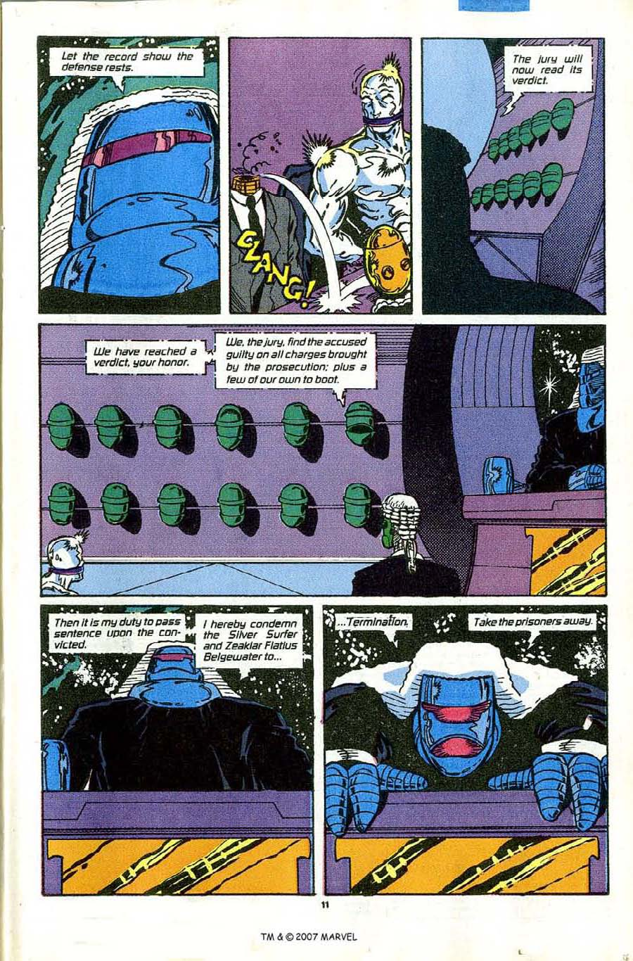 Read online Silver Surfer (1987) comic -  Issue #43 - 13