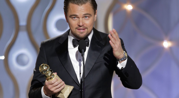 Leonardo DiCaprio's Golden Globe Acceptance Speech For The First Nations & Indigenous People Of The World