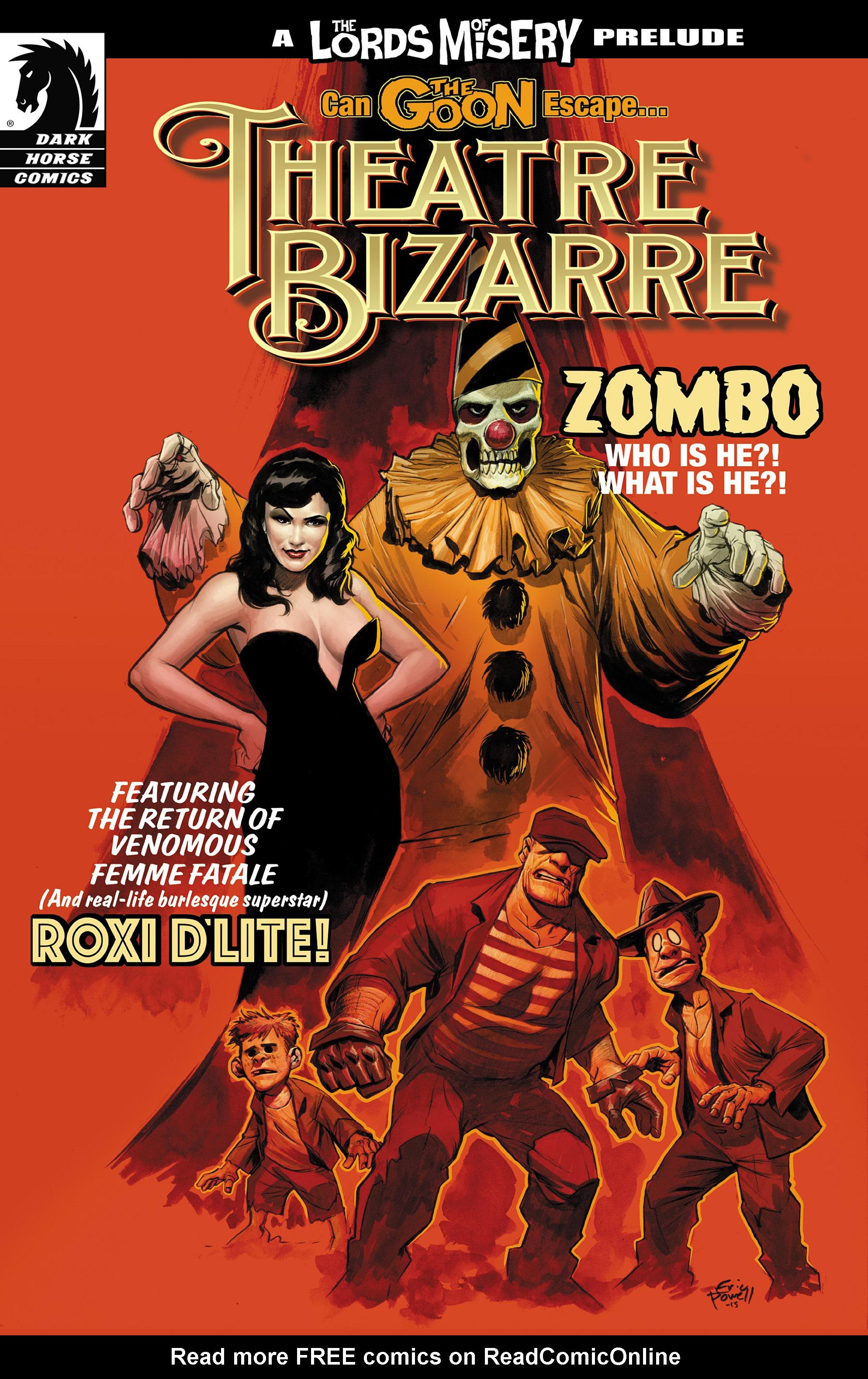 Read online The Goon: Theatre Bizarre comic -  Issue # Full - 1
