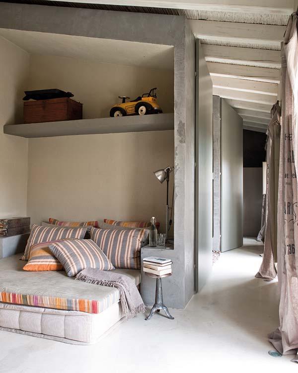 Cosas de palmichula decorar con tela de saco arpillera - Decoracion chill out interiores ...