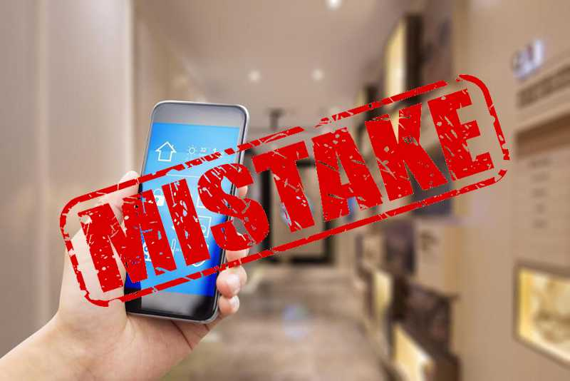 Home Automation Blunders