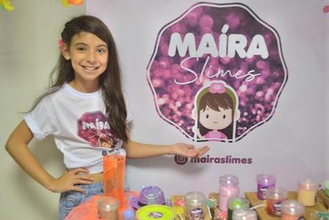 1° Encotrinho de Slimes de Maíra foi um verdadeiro sucesso