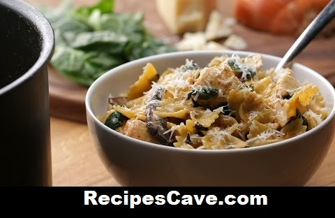 Best Creamy Mushroom And Chicken Pasta Recipe