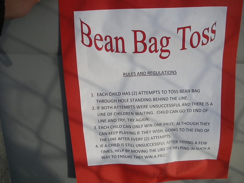 Bean Bag Game Rules And Regulations