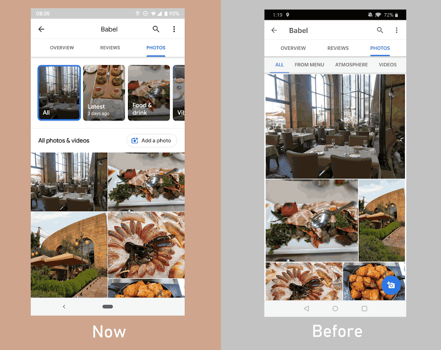 New Google Maps Sorting filter helps users see a location's most recent photos and videos first