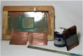 Persiapan alat untuk sablon PCB