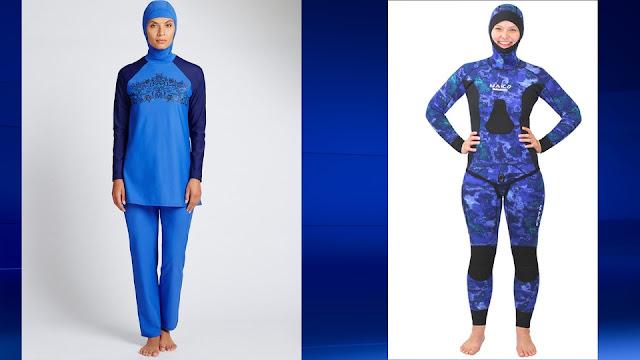 Burkini Model Baju Muslim Modern