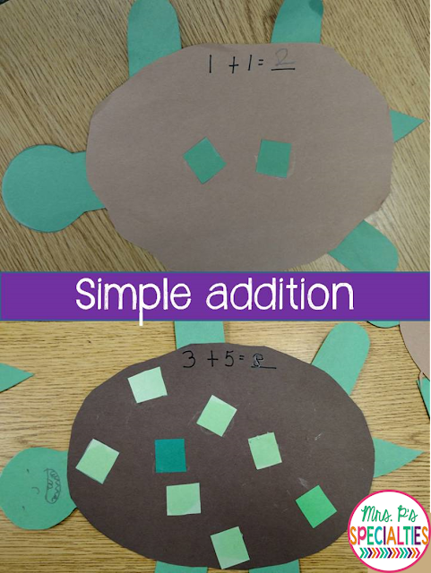 Art projects are fantastic for targeting multiple skills in an fun and engaging way. Check out how we combine math, fine motor, language practice and receptive language into this one 30 minute lesson.