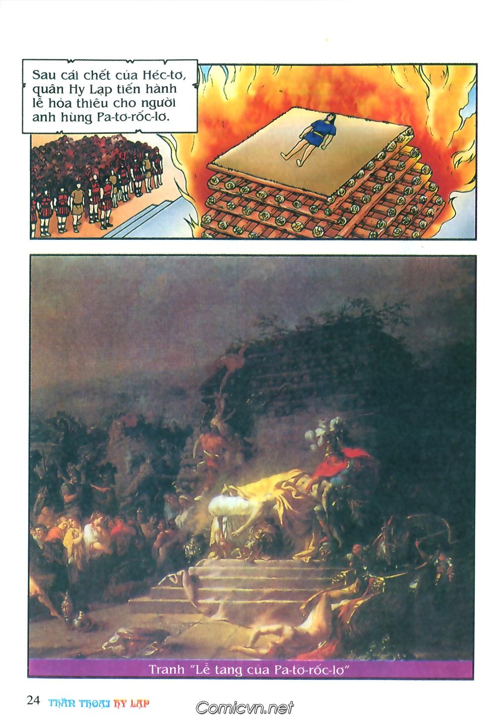 Thần Thoại Hy Lạp Màu - Chapter 62: Hector tử trận - Pic 24