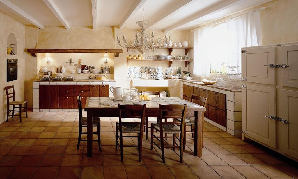 Cocinas rurales el encanto de lo natural cocinas con estilo - Cocinas con encanto ...
