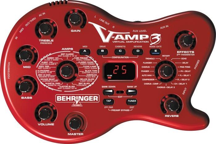 outstanding affordable guitars accessories behringer v amp 3 guitar multi effect processor. Black Bedroom Furniture Sets. Home Design Ideas