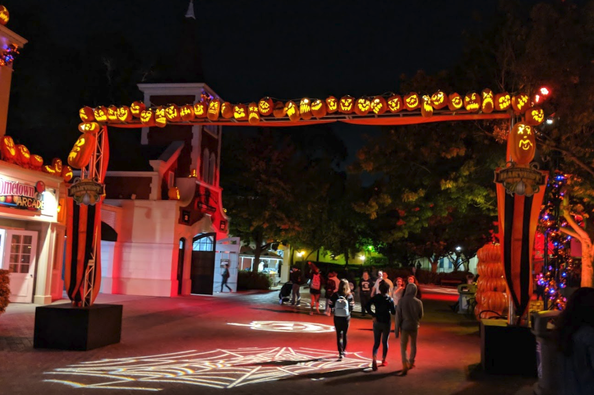 the san jose blog: halloween haunt 2018 at california's great america