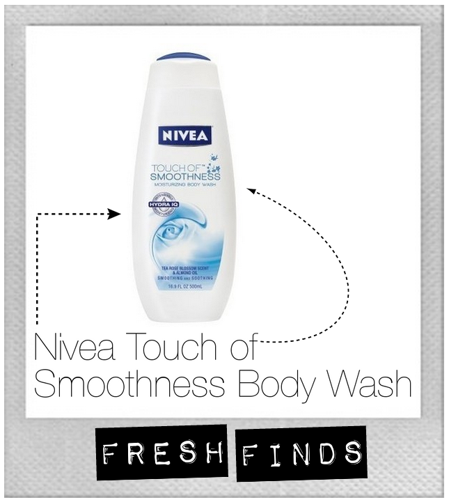 Nivea touch of smoothness body wash skin care soft healthy beauty
