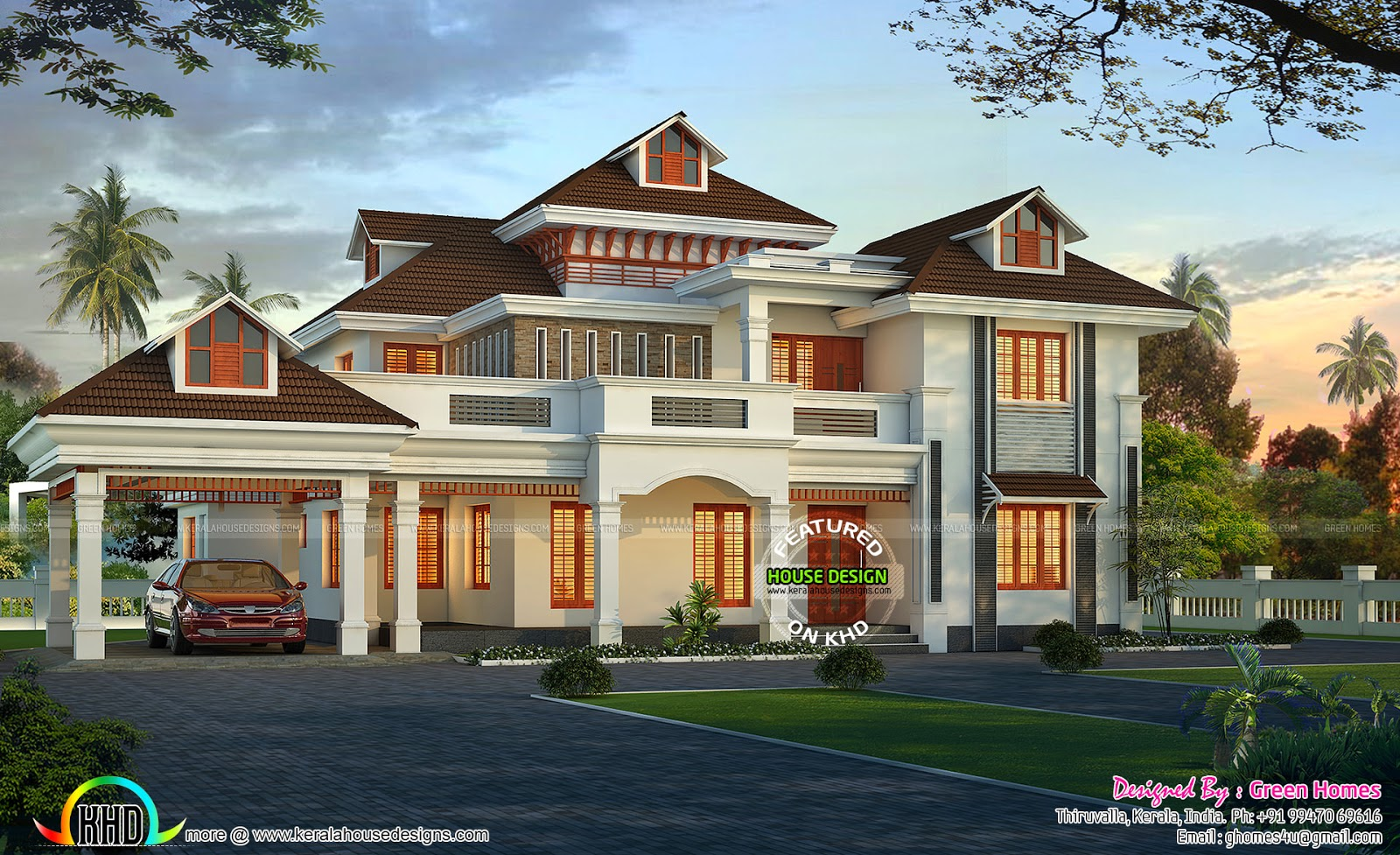 sq ft house elegant kerala home design floor sq ft house provision stair future expansion home