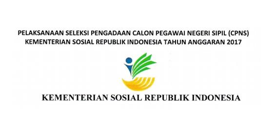Lowongan Kerja CPNS Kementerian Sosial Republik Indonesia (160 Formasi)