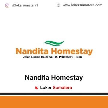 Lowongan Kerja Pekanbaru, Nandita Homestay Juli 2021