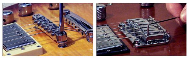 Cómo Ajustar la Altura de las Cuerdas en Guitarra Eléctrica