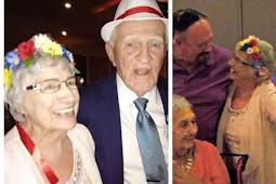 True Love Never Dies! 86 Year Old Man Marries His 93 Year Old Lover In US