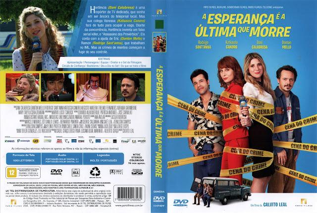 Capa DVD A Esperança é a Última Que Morre