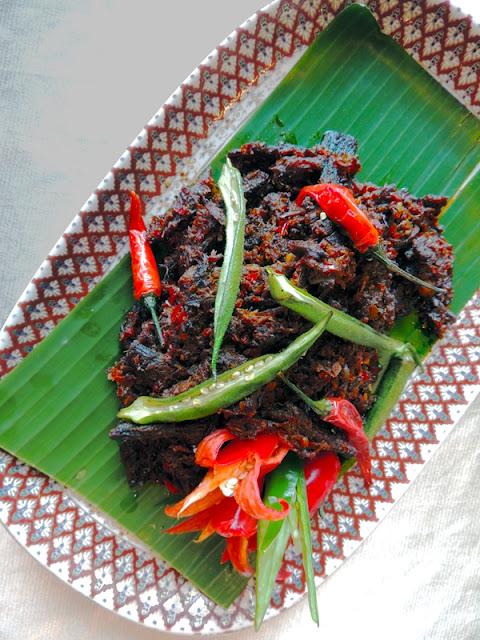 Daging Masak Dendeng - Dendeng style Beef