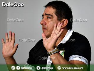 Carlos Pontons - Dirigente de Oriente Petrolero - DaleOoo