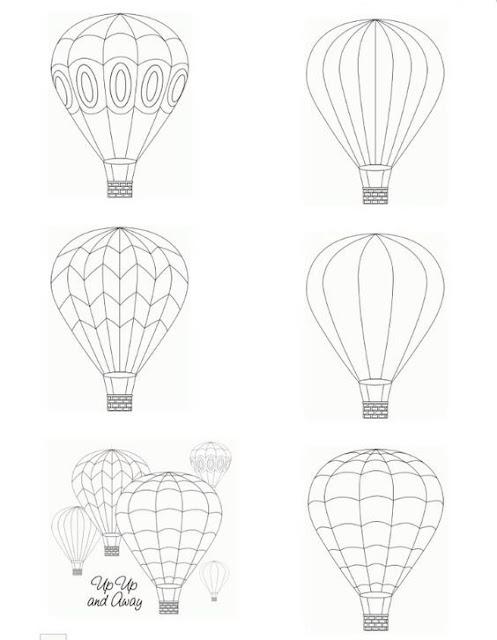 Molde Balão De Feltro Como Faço