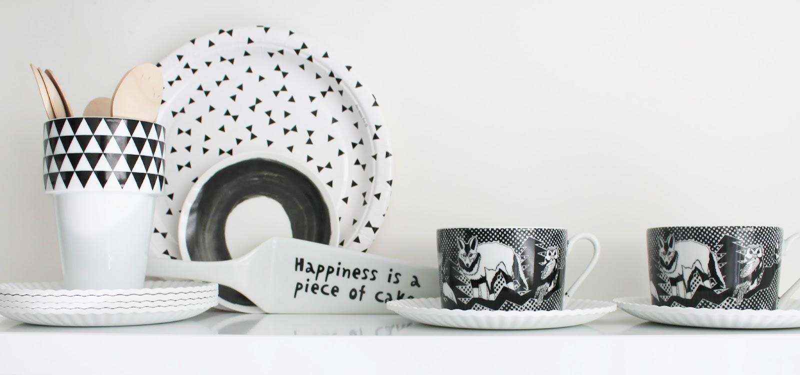 Zwart Wit Servies Ikea.Missjettle Maart 2015