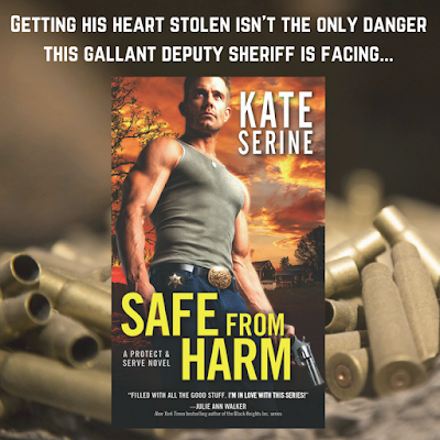 Bea's Book Nook, Excerpt, Giveaway, Safe From Harm, Kate SeRine