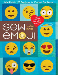 Sew Emoji book by Gailen Runge