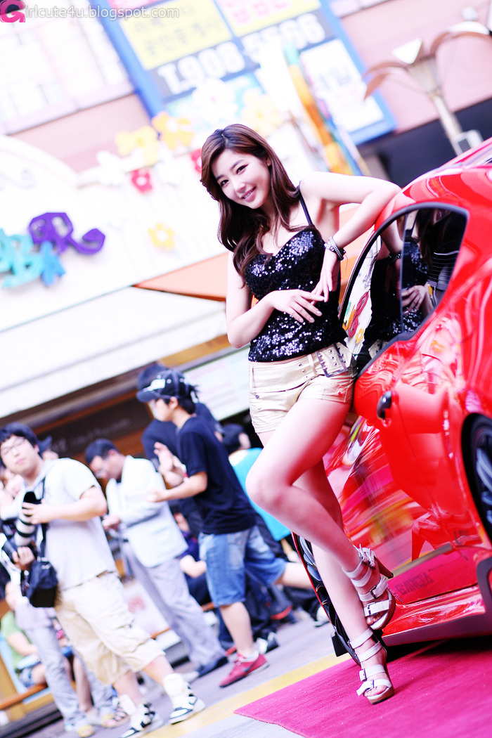 Jo Sang Hi At Hyundai Best Dress-Up Car Contest  Daily -4179