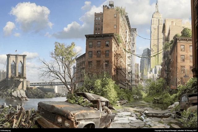 ciudad sin humanos