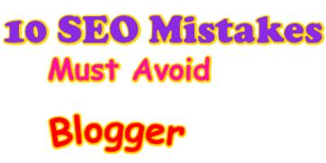 10 SEO Mistakes  Avoid in Blog