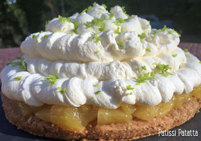 cheesecake, ananas, la perlette, cheesecake aux fruits