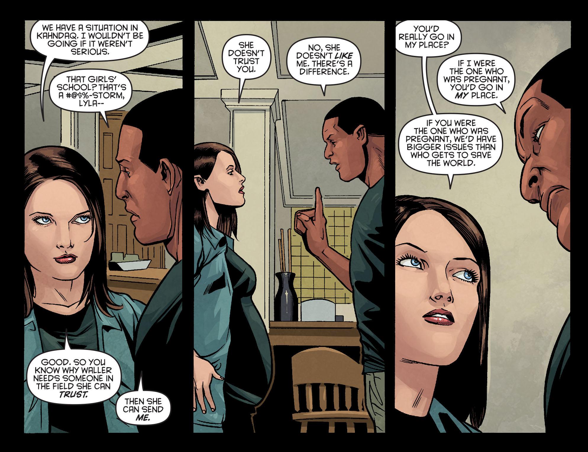 Read online Arrow: Season 2.5 [I] comic -  Issue #10 - 10