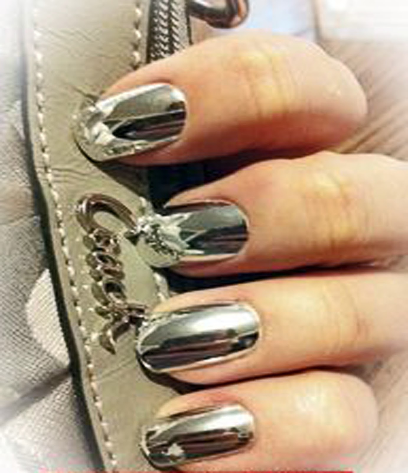 in moda for me nail art como hacer u as efecto espejo