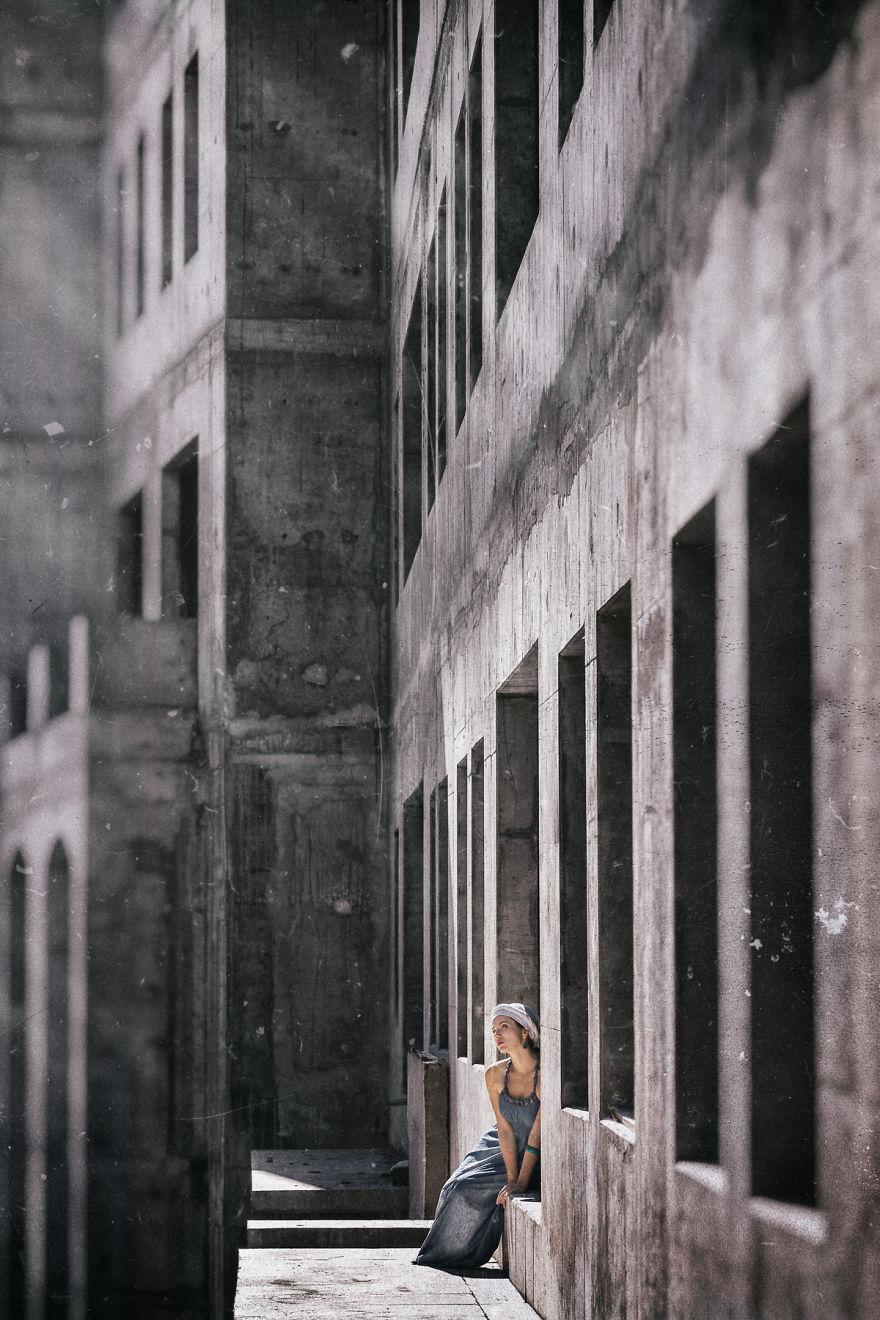Зиккурат II, фотограф Петер Целей
