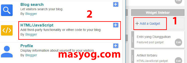 memasang iklan di blog